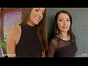 thumb spermswap two hot brunettes with perfect bodies know how to handle a nice big co
