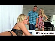 Teen Karla Kush is attracted to hot mom and engages in threesome
