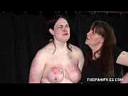 Alyss extreme lesbian bdsm and whipping to tears of private bbw slave girl Thumbnail