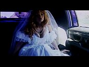 car sex - bride in white stocking limo fuck Thumbnail