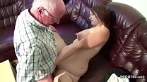 German 18yr old Teeny Seduce to Fuck by old Grandpa Vorschaubild