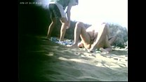dogging partner does on the beach [노출증 exhibitionism]
