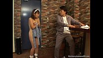 Japanese Bar Ma id Gets Fucked And Cumloaded And Cumloaded