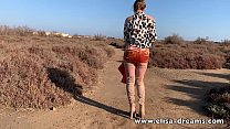 Erotic and naughty video done close the beach thumb