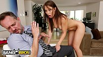 BANGBROS - Young Step Daughter Aidra Fox Takes Control Of Her Step Father thumbnail