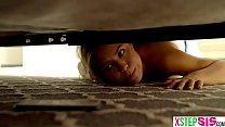 Stuck under the bed stepsister so easy to fuck her صورة