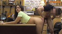 Small tits woman railed at the pawnshop />                             <span class=