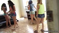Group of busty Latinas fucking at private party - 9Club.Top