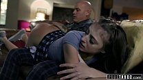 PURE TABOO Step-Daughter Spanked and Ass-Fucked...