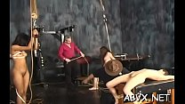 Nude chicks roughly playing in bondage xxx amateur video Thumbnail