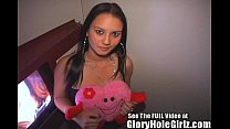 Filipina Princess Sucks Glory Hole Cock! Thumbnail