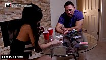 Jade Kush loses a poker bet & gets fucked in a frat house