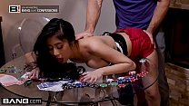 Jade Kush loses a poker bet & gets fucked in a frat house - 9Club.Top