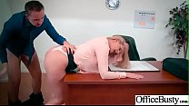Hot Big Tits Girl (Brooklyn Chase) Hard Nailed In Office mov-06 صورة