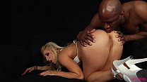 Ashley Fires ass fucked by black monster Preview