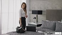 TUSHY Hot assistant punished and ass fucked by boss Vorschaubild