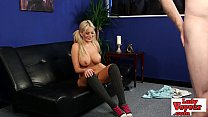 5137 Stunning busty brit babe teasing horny cock preview