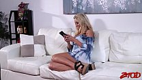 Smoking Hot MILF Katie Morgan Hammered By A Huge Dick