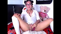 Shemale Cutie Stroking Her Cock Sensually
