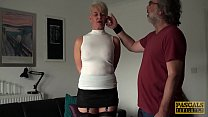 PASCALSSUBSLUTS - Mature Subslut Scarla Swallows Submits