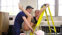Alessandra Jane rides on top of Danny Ds massive rod Thumbnail