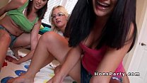 Dorm room orgy sex party homemade