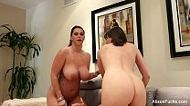 Alison Tyler & Dana On The Set