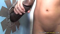 Kelly Surfer's First Interracial Sex - Gloryhole's Thumb