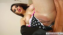 All Internal Zafira sucks it well and gets her pussy loaded with cum Vorschaubild