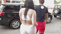 young big booty eby slut getting fuck in back of cab cali kush - 9Club.Top