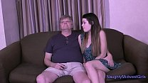 Anastasia Rose gets Creampied by not her Grandpa preview image