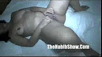 Local hoodThick Brazilian MILf pussy banged by Val doggy