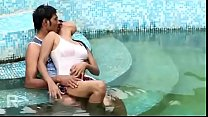 desimasala.co - Beautiful young girls boob press romance in pool