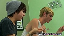 Teen gay sex porno movie Kyler gets a humid mouth from the