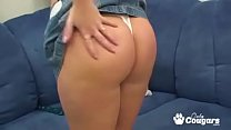 Big Booty Amateur Makes Herself Squirt