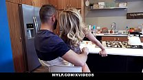 MYLF - Big Dick Stepson Cums All Over Hot Couga...