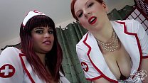 Naughty Nurses Keep You Immobilized