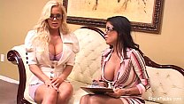 Shyla Stylez and Alexis Amore Enjoy Sex's Thumb
