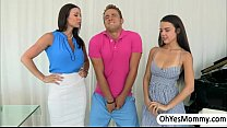 MILF Kendra punishes erotically her student Dillion with her bf