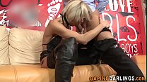 Horny cougar gets ass fucked