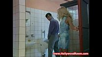 Horny Wife Fucks Stranger In Public Toilet - download porn videos