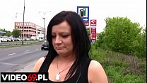 Polish porn - Mature hitchhiker fucked by a young seducer