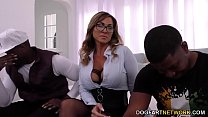 Squirting Cougar Aubrey Black Fucks BBC thumb