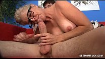 Giant Dick Sucked By granny