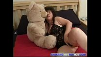 Mature wife desperately wants cock inside her old body