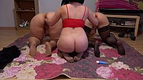 Screenshot Passionate Orgy Of Three Mature Lesbians With B