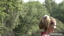Mary Rock is into nature and hard cock Vorschaubild
