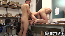 Young gay men love it when a big dick is bare banging them