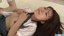Naosima Ai schoolgirl with need for cock goes n...