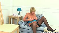 Britain's best assets: stockings, high heels and big tits thumbnail